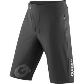 Gonso Sitivo Shorts ciclismo Acolchado Hombre, negro